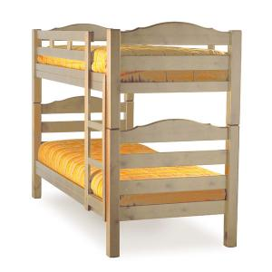 Mercurio bunk bed raw wood Hobby Shop 3LTMER089C200 0