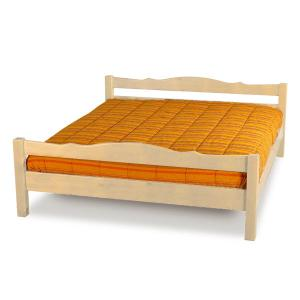 Mercurio double bed raw wood Hobby Shop 3LTMER169M200 0