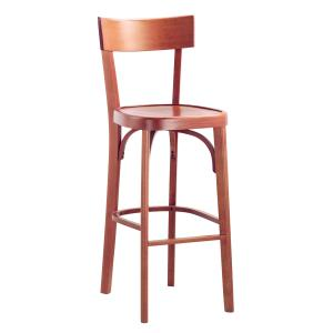 Milano Crociera wood Stool viennese style tonet bistrot for home restaurants pizzerias community bar Chairs, Armchairs, Stools and Benches SE-MILANO-C-SG 0