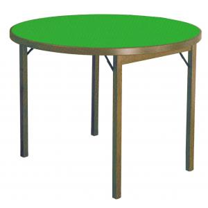 Card Table Moon round ø 100 wooden Tables DF-712 0