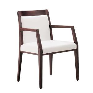 Opera Boheme Modern Wooden Armchair for dining room bars restaurants Sedie e tavoli 49EP 0