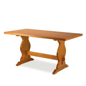 Paride Fratino 130 wooden rectangular Table rustic country kitchen restaurant pizzerias community bar Tables MI-1TVPAR13FF2 0