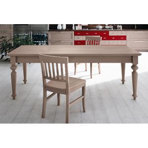 Rettangolare 200 Turned legs Table Tavoli CA-E2065 0