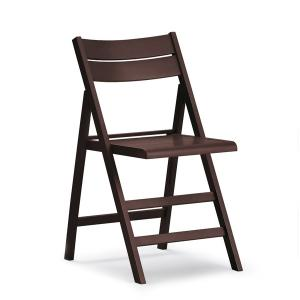 Robert wood Folding Chair for home restaurants pizzerias community bar Sedie e tavoli 458 0