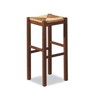 Rustica h. 75 wood Stool for home restaurants pizzerias community bar Sedie e tavoli 425X 0