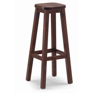 Quadro Alto wood Stool rustic country kitchen restaurant pizzeria community bar Chairs, Armchairs, Stools and Benches AV-H/309 0