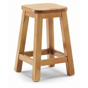 Quadro Basso wood Stool rustic country kitchen restaurant pizzeria community bar Chairs, Armchairs, Stools and Benches AV-H/309-B 0