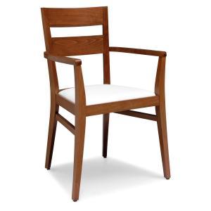 Silla Modern Wooden Armchair for kitchen bars restaurants Sedie e tavoli 472AP 0
