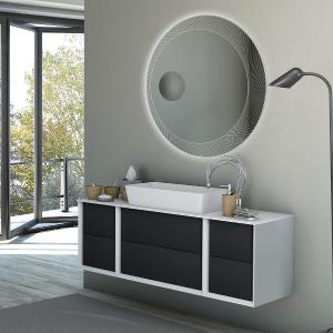 Anemone 4 Bathroom Cabinet Bathroom Cabinets BH-BELLAGIO-4 0