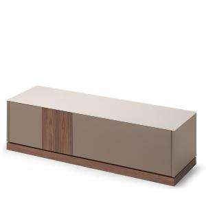 Domitalia Contour-tv-Lacquered Turtledove Matt Tv Stand Living Room Furnishing DO-CONTOUR-TV-LACCATO-TORTORA-OPACO 0