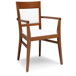 Soul Modern Wooden Armchair for kitchen bars restaurants Sedie e tavoli 472BP 0