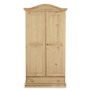 Venere 2 doors wardrobe wood raw Hobby Shop 3ARVEN2ACB200 0