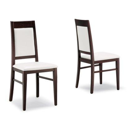 Chaise moderne en bois Capua pour salle à manger café restaurant Sedie e tavoli 490A 0