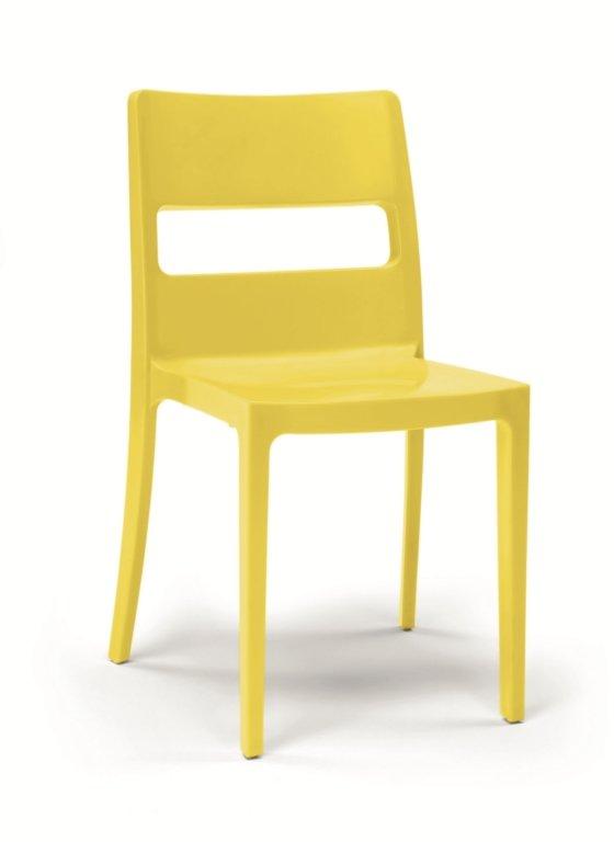 chaise sai scab design en plastique polypropyl ne mobilclick. Black Bedroom Furniture Sets. Home Design Ideas