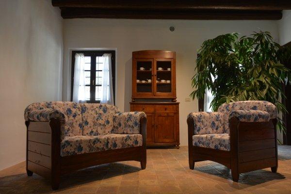 Canap 2 places venezia en bois rustique pour la maison h tels b b communaut mobilclick - La maison rustique ...