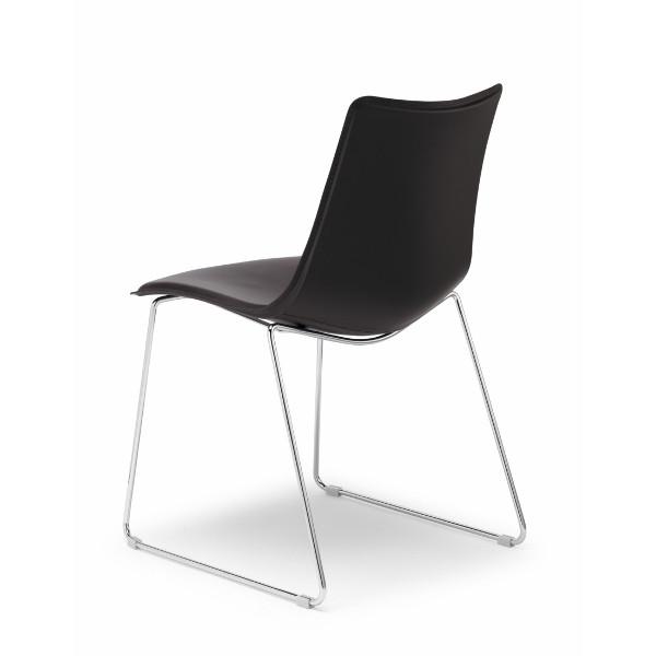 Chaise Zebra Pop traîneau Scab Design - MobilClick