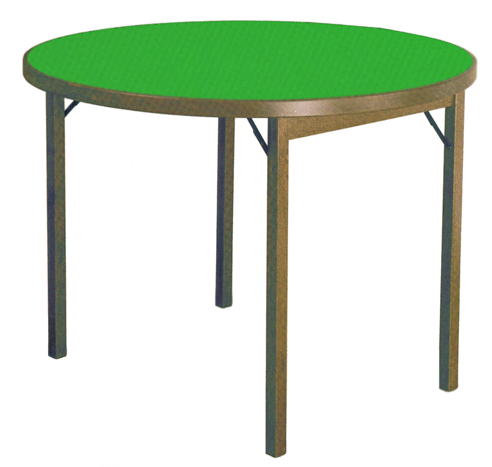 Card table moon round ø 100 wooden tables df 712 0