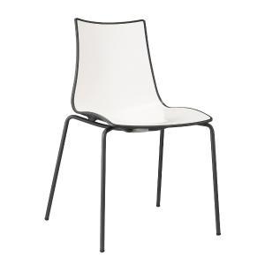 Chaise Zebra Bicolore 4 jambes Scab Design Sedie SD-2272 0