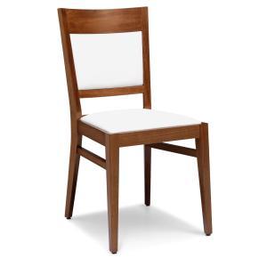 Chaise moderne en bois Soul pour cuisine café restaurant Sedie e tavoli 472B 0