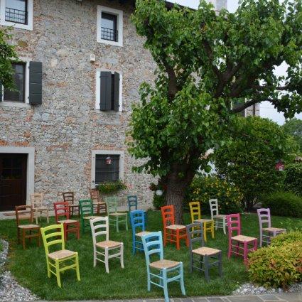 Sedia Venezia Colorata Palma 42A-COLORATA 1