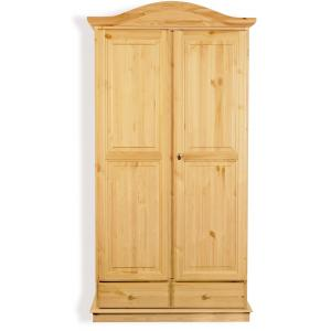 Armadio Venere 2 ante in legno per casa alberghi b&b comunità