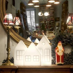 Lampada da tavolo natalizia Kolme