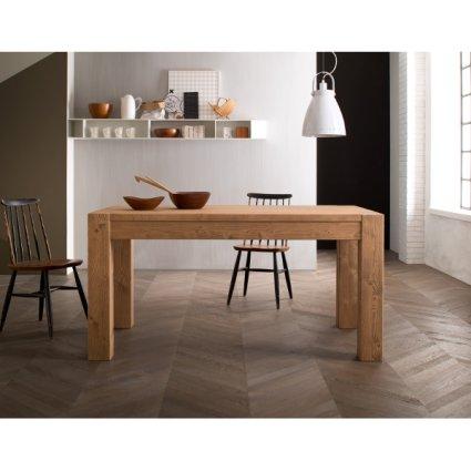 Tavolo in legno rustico classico shabby chic Esencaj 160 allungabile ...