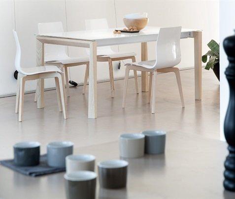 Tavolo cucina sala da pranzo moderno Universe-160 W Domitalia ...