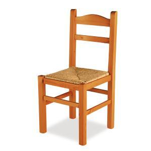 Stuhl Agamennone aus Holz im rustikalen Landhausstil für Küche Restaurant Bars Outlet 1SDAGAoutlet 0